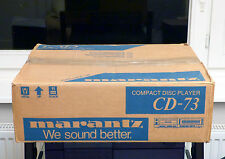 We sound better! ♪ Marantz CD-73 ♪ WIE NEU IN OVP | NEAR MINT IN BOX
