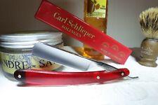 Rasoir coupe-choux EMESO 5/8 cocobolo straight razor rasiermesser