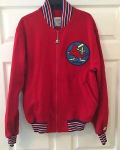 Vintage Starter Jacket xl Louisville Redbirds Baseball St. Louis Cardinals RARE