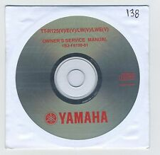 (CD138) CD YAMAHA TT-R125(V) / E(V) / LW(V) / LWE(V)