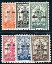 PORTUGAL 1933 565-570 ** POSTFRISCH SCHÖNER SATZ AUFDRUCKE (09976
