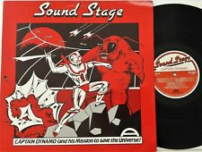 Ruhland / Loose - Captain Dynamo LP 1985 UK Sound Stage AVF34 Amphonic Music