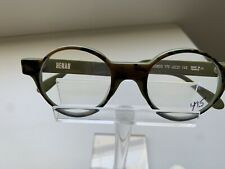 Henau Rondo Y 79 Camouflage Color eyeglass frame made in France