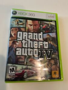 Grand Theft Auto IV Xbox 360 Game GTA 4