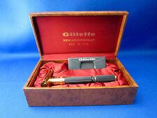 Gillette NEW ARISTOCRAT Adjustable  TTO Razor 1970 P1  Made In U.S.A. Unique!