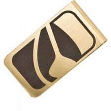 New NIXON BADGE MONEY CLIP in Gold Surf Skate Unisex One Size