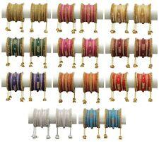Indian Jewelry Bollywood Kada Bangles Ethnic Dulhan Multi Wedding Set Bracelet
