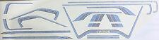 SUZUKI GSX750E GSX1100EX PAINTWORK RESTORATION DECAL SET