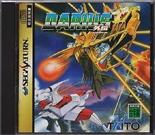 Sega Saturn DARIUS GAIDEN Taito Import Japan Video Game