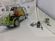 FIAT 600 MULTIPLA DEL 63 - SERRATURA COFANO POSTERIORE CON CHIAVI ORIGINALE