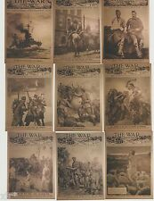 1914 WAR ILLUSTRATED TRADING CARDS CULT STUFF 9 CARD PUZZLE SET