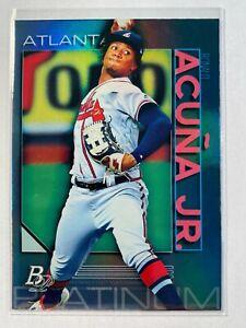 Ronald Acuna Jr 2020 Bowman Platinum Atlanta Braves #62