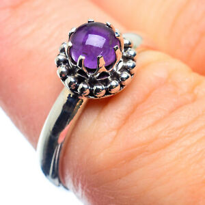 Amethyst 925 Sterling Silver Ring Size 6.25 Ana Co Jewelry R25919