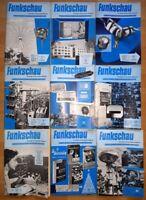 23x Funkschau 1959 Funktechnik Zeitschrift Hefte alt Franzis Radio TV Kamera