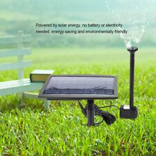 2.5W Solar Powered Fountain Water Pump for Pool Pond Garden Plants Aquarium