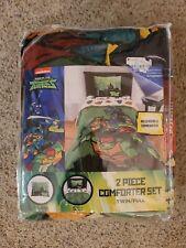 Rise of the teenage mutant ninja turtles 2 Piece Comforter Set Twin/ Full