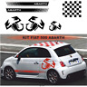 Fiat 500 style abarth - Autocollants stickers- Kit n°3 adhésif décoration 1