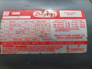 Dayton LR22132 Electric Motor