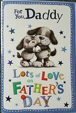 FOR YOU DADDY LOTS OF LOVE ON FATHER'S DAY - FATHERS DAY CARD