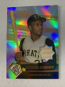 Roberto Clemente 2004 game used bat 43/99