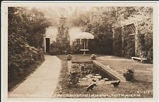 1940's RPPC Memory Garden, Edison First Lab at Fort Myers, FL Florida PC Cline