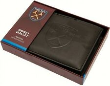 West Ham United FC Wallet With Debossed Crest Official Accessories