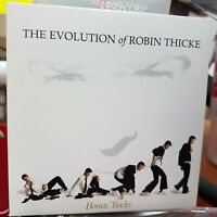 The Evolution of Robin Thicke BONUS TRACKS sampler promo Super rare 3 song CD
