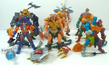 MOTU, Figures Lot, 200x, He-Man Set, Complete, Masters of the Universe weapons