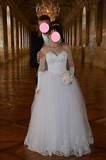 hochzeitskleid Weiß Größe 38-40