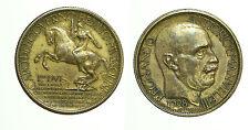 pcc1692) Vittorio Emanuele III (1900-1943) 2 lire 1928 Fiera Milano