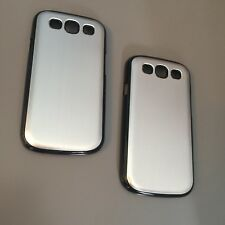x2 Tough Shockproof Hard Aluminium TPU Back Case From Samsung Galaxy S3 / S III