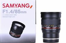 Samyang 85mm f1.4 AS IF UMC Sony FE Mount-Ex-Demo