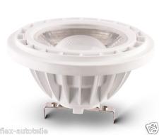 LED AR111 G5,3 faretto Spot Bianco Caldo 10W COME 60W 45° 12V 800 lm 3000K