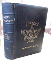 HISTORY FREEMASONRY & CONCORDANT ORDERS,1921,Illust