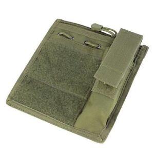 CONDOR MA30-001 Admin Taktische MOLLE Tasche Panel mit Flashlight Pouch Oliv OD