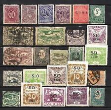 Allemagne - Germany Haute Silésie 50 timbres différents