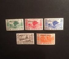 New Hebrides Postage Due D11/15 Lightly Mounted Mint 1953