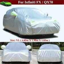 Full Car Cover Waterproof / Dustproof Car Cover for Infiniti FX QX70 2010-2021