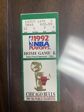 1992 NBA FINALS CHICAGO BULLS PORTLAND MICHAEL JORDAN TICKET STUB GAME 1