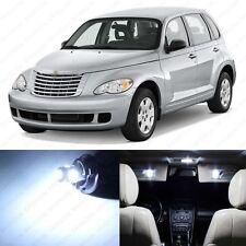 8 x White LED Interior Light Package For 2001 - 2010 Chrysler PT Cruiser + TOOL