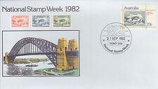 1982 National Stamp Week FDC - National Stamp Week 82 Sydney 2000 PMK