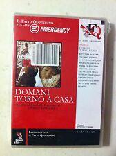 dvd domani torno a casa - emergency alleg. il fatto quotidiano blisterato