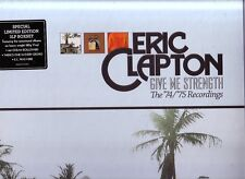 """ERIC CLAPTON """"Give me strength""""  3 LP BOX-SET The """"74/""""75 Recordings sealed"""
