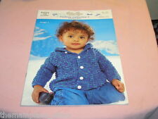 Peter Pan Fashion Collection 1 Knitting Crochet Pattern Book Premature  2 3 Yr