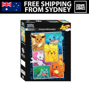 1000 Pieces Pokemon Character Panels Jigsaw Puzzle - Impact Posters Licensed