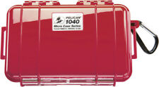 New Pelican ™ 1040 Solid Red Micro Case with Free engraved nameplate