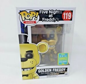 FUNKO POP GOLDEN FREDDY FIVE NIGHTS AT FREDDYS LIMITED EDITION 119 SDCC 2016
