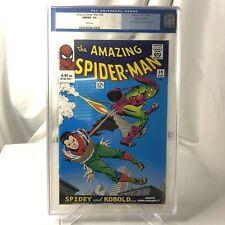 🌟 CGC 9.8 AMAZING SPIDER-MAN #39 GERMAN REPRINT 🔑 KEY GREEN GOBLIN 2000 Marvel