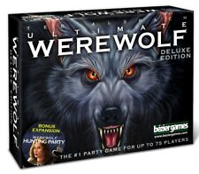 Ultimate Werewolf Deluxe Edition w/ Hunting Party Exp Family Game Bezier Games