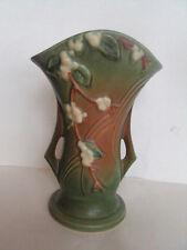 Vintage Original Roseville Art Pottery - Snowberry - 1V2-9 Vase. Excellent!